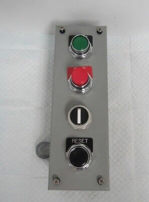 Sce Industrial Control Panel Type 12 Lr97418 4 Button