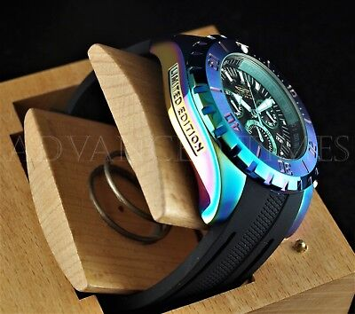 Invicta Pro Diver Ocean Master 52mm LTD. ED Chronograph Day Day IRIDESCENT Watch