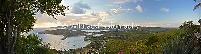 Digital Picture Image Photo Wallpaper JPG beach sunset shirley heights antigua