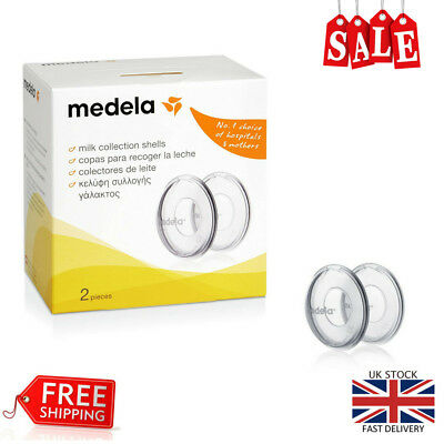 Medela Breastmilk Collection Shells Baby Feeding Set Milk Collection Leakage NEW