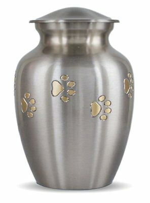 Classic Paw Print - Pet Cremation Urn - 1st Quality - Free Shipping U.S.A.