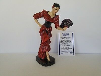 Kevin Frances, Peggy Davies, The Spanish Dancer,  Limited Edition 8/25