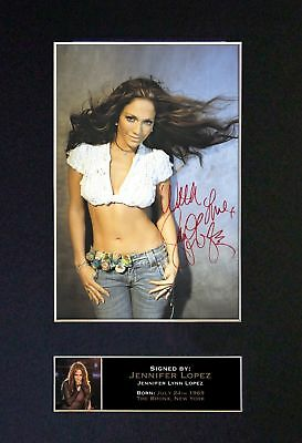 Jennifer Lopez - Signed / Autographed Photograph + FREE WORLDWIDE SHIPPING