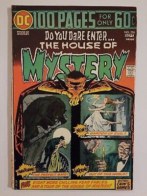 The House Of Mystery #226, higher grade, bronze age horror - 100 pages!