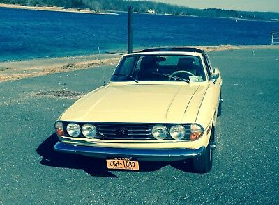 Triumph Stag V8 Mk1 Manual LHD left hand drive US villa chalet spain france