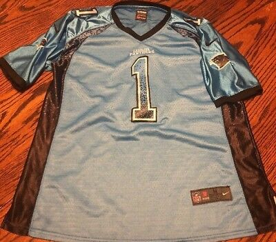 differently f8d8f f7fe1 Women's Cam Newton Carolina Panthers Stitched Jersey Size Medium Nice
