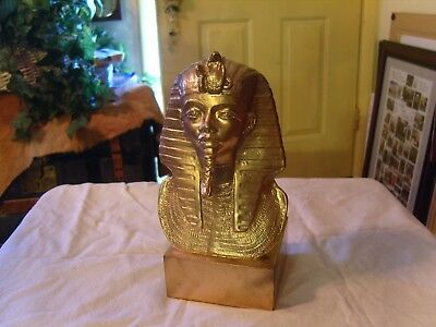 Bust Of King Tut Egyptian Pharaoh Burial Mask