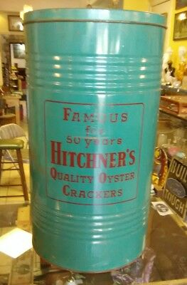 famous for 50 years hitchner's quality oyster crackers