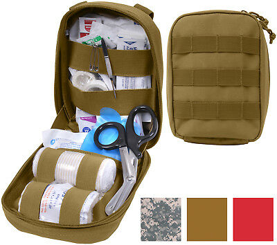 MOLLE TACTICAL TRAUMA & First Aid Kit Pouch Black/Coyote/ACU