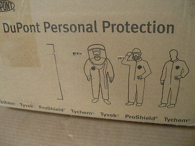 25X Dupont Tyvek Coveralls  Xl Suit Hood, Feet & Elastic Cuff  Ty122Swhxl002500