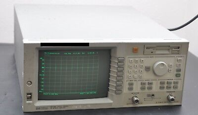 HP / AGILENT 8711B 75 Ohm RF NETWORK ANALYZER 300kHz - 1300MHz  OPT: 1EC