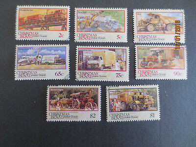 N0--2-1990  Christmas   Island  Transport  Through  The  Ages   --F/s-8 Stamps
