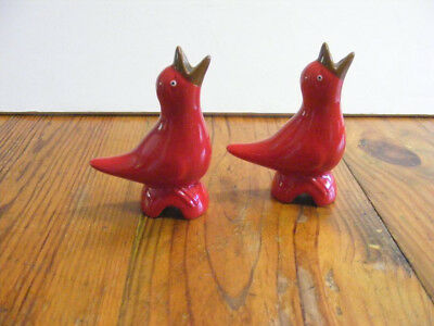 Classic Pie Birds Steam Vent For Pies Hungry Baby Bird Mouth Open Bright Red (2)