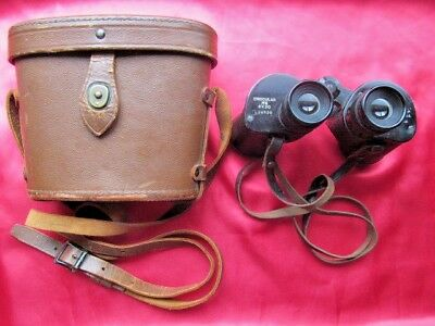 1942 WW2 US Army M6 Binoculars Universal Camera Corp Range Finder w/Case 6X30