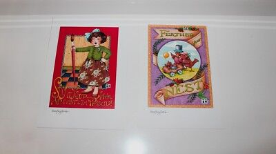 14 Collectable Mary Engelbreit Prints from Home Collection Magazines