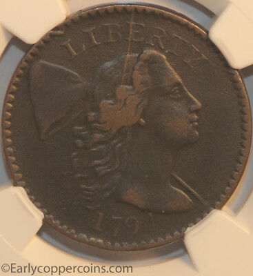 1794 S49 R2 Liberty Cap Large Cent NGC VF25 LDS Head of 94 Starts 1c NO RESERVE!