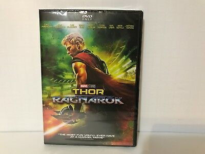 Thor Ragnarok (DVD, 2018) Brand NEW* Action, Sci Fi* Marvel,  FREE SHIP in USA!!