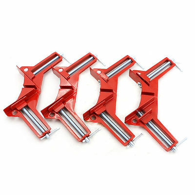 90°Degree Right Angle Frame Corner Clamp Holder Woodworking Hand Kit ChicAF