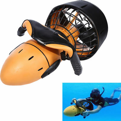 300W Electric Sea Scooter Underwater Pro Waterproof Dual Speed Safety Prop 6km/h