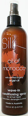 Silk of Morocco Leave In Conditioning Spray 250mL