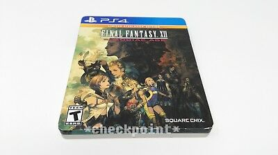 Final Fantasy 12 XII: The Zodiac Age - Limited SteelBook Edition (PS4) COMPLETE!