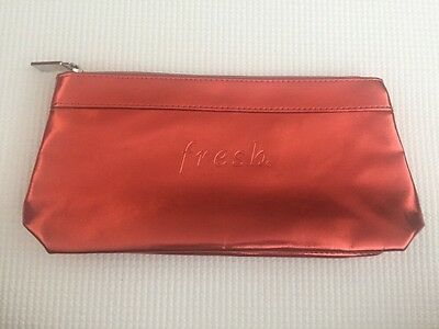 202337f8f253 Fresh Beauty Makeup Cosmetic Bag Case Pouch Metallic Red