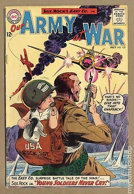 Our Army at War #132 1963 GD/VG 3.0