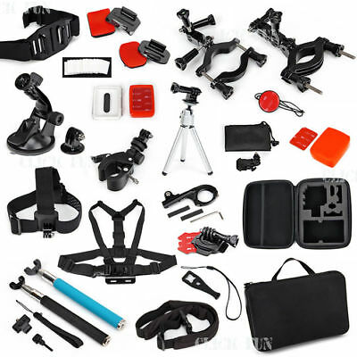 Chest Head Tripod Floaty Roll Cage Mount Accessories For GoPro Hero 6 5 4 3 2