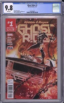 Ghost Rider #1 CGC 9.8 Checchetto cover Robbie Reyes MARVEL