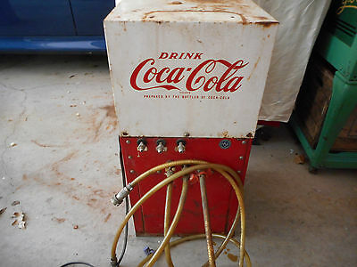 Vintage Coca Cola Cooling Compressor For Syrup Dispensers Made By Dixie Naco