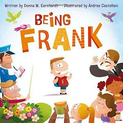 Being Frank by Earnhardt, Donna W. | Hardcover Book | 9781936261192 | NEW