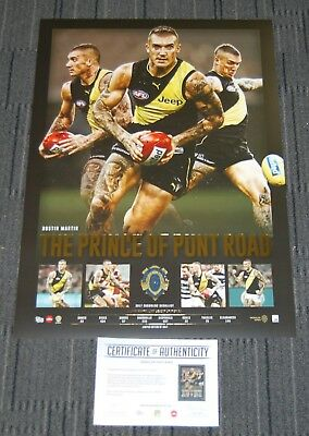 Dustin Martin 2017 Afl Brownlow Medallist Prince Of Punt Road Print Richmond