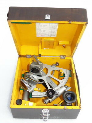 Russian Cho T Ships Boat Yacht Marine Navigation Sextant Sno M