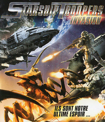 BLU-RAY - STARSHIP TROOPERS : INVASION - Animation - Science-Fiction - OCCAS