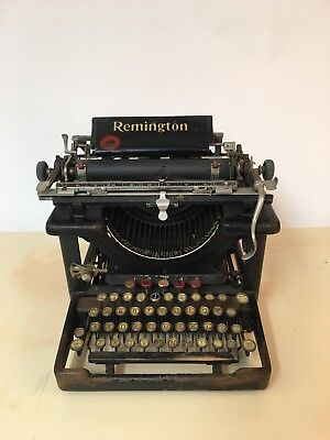 Antique Remington Typewriter Model 10 or 12