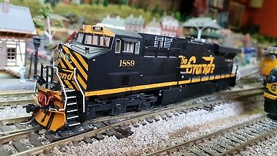 Intermountain HO Scale ES44AC diesel engine DCC with sound Rio Grande 1889