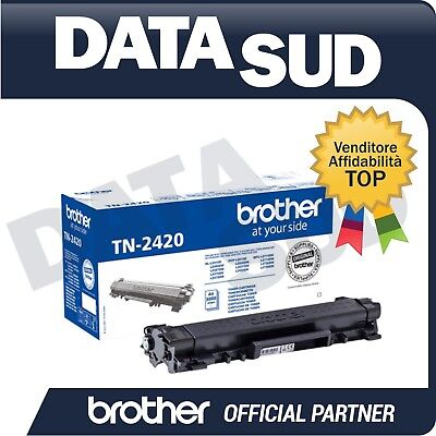 Toner  Brother Tn-2420 Originale (3.000) Per Dcp-L2510,Hl-L2350Dw, Mfc-L2710Dn..