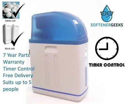 Softenergeeks Timer Controlled Blue Line Water Softener