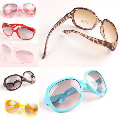 Retro Girls Kids Eyeglasses Sunglasses Goggles Eyewear Infant Children Anti-UV