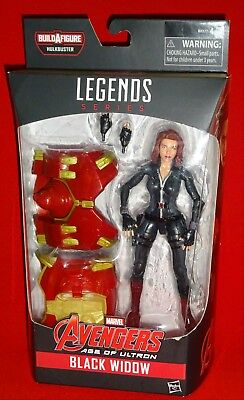Marvel Legends Age Of Utron BLACK WIDOW Figure Hulkbuster Wave Brand New Sealed