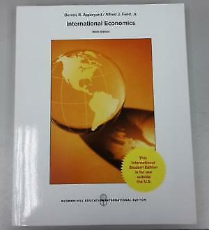 International Economics by Dennis Appleyard (Hardback, 2016)