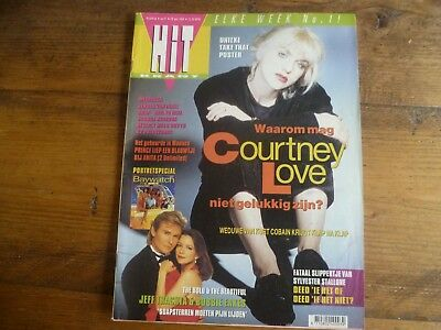 Hitkrant 1994: Courtney Love/The Bold/Baywatch/BH90210/Prince/Normaal/Dickinson