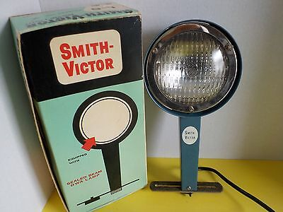 Vintage Smith-Victor L-5 Light Movie Photography BRIGHT Lighting Original Box