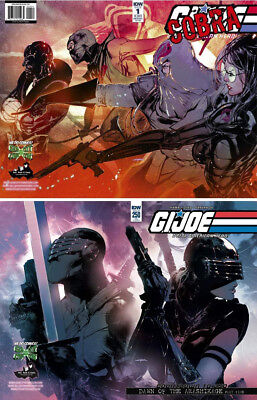G.I.Joe #1 and #250 VARIANT covers ONLY 500 made SAYGER Exclusive Gem City