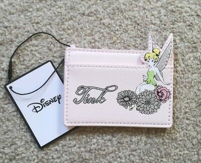BNWT Disney Tinkerbell Credit Card/Coin Holder