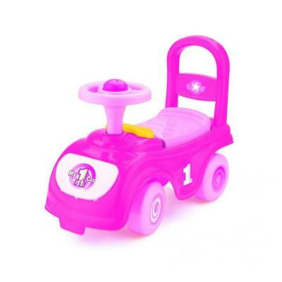 Dolu Toddler Girls My First Ride On Car Push Along Walker Pink 1 Year + 8027
