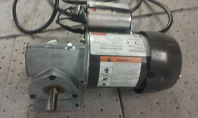 Dayton 1XFY8 AC Gearmotor 29 RPM 1/8 HP Right Angle