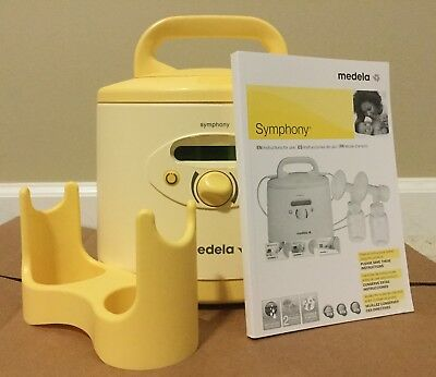Medela Symphony 2.0 Breast Pump Hospital Grade - Used 637h50s Hours .