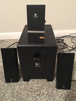 Logitech X-240 Computer 2.1 Speakers Sub-Woofer