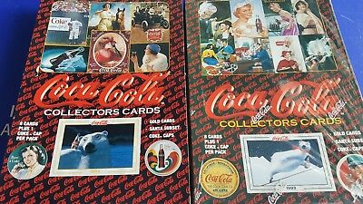 Coca Cola  Series 1 &  2  FACTORY SEALED  Unopened 36 pack  Boxes